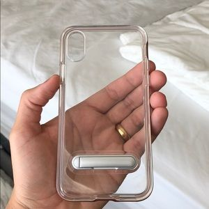 Accessories - Iphone x rose gold case